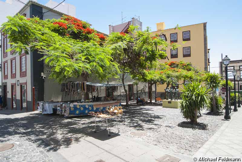 Plaza de Vandale in Santa Cruz