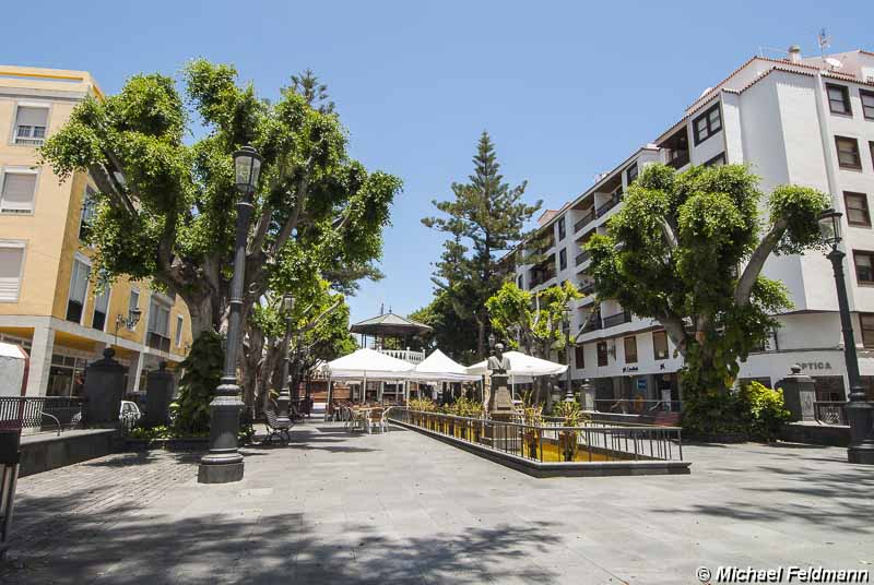 Plaza de la Alameda in Santa Cruz