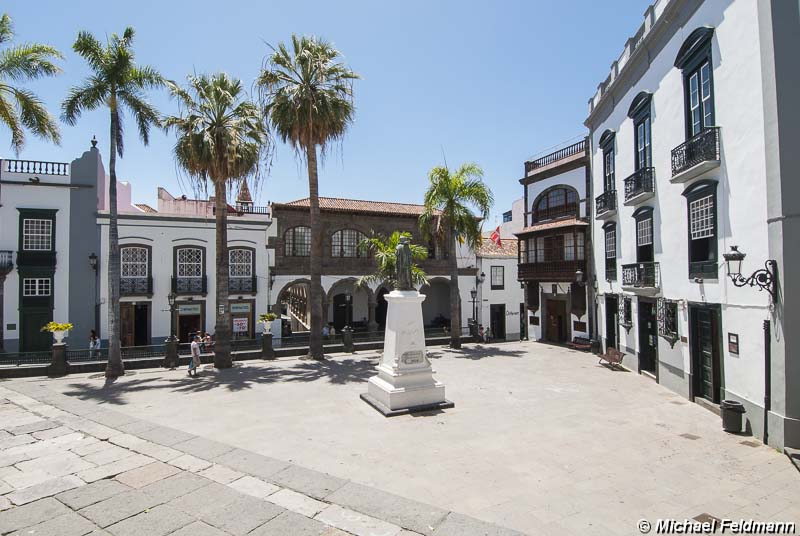 Plaza de España in Santa Cruz