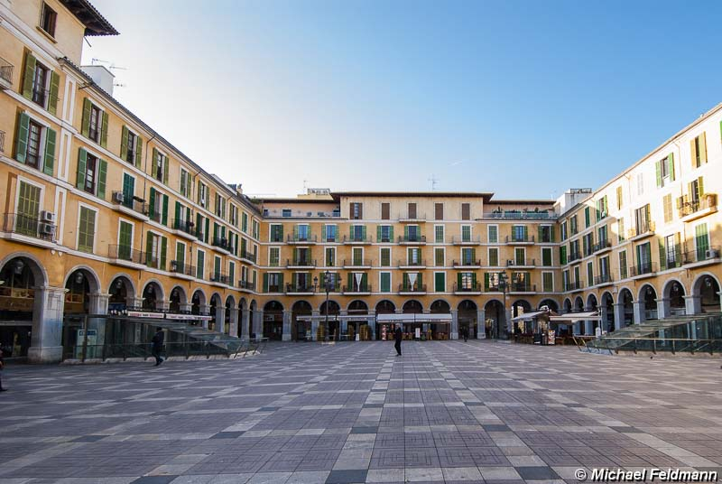 Plaça Major in Palma de Mallorca