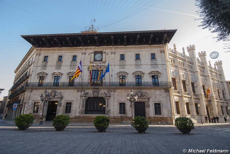 Rathaus von palma de mallorca - Arquitectos palma de mallorca ...